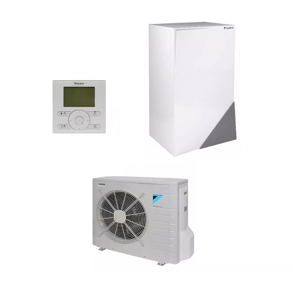 Daikin Altherma Heating Low Temperature Air Source Heat-Pump Boiler System Installation Kit 240V/415V~50Hz